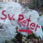 Križev pot na Sveti Peter