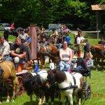 Žegnanje konj na Plešivici 2019